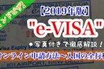 """【2019年版】インドの""""e-VISA""""(eツーリストビザ)の申請方法~入国までを徹底解説!"""